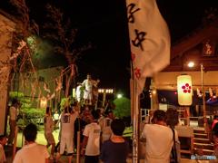 小さな神社の夏越祭