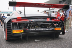2017 Audi R8 LMS CUP 鈴鹿 グリッドウォーク