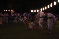 十津川の夏祭り