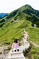 台湾百岳の合歡山東峰