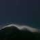 雲の帽子を被った赤岳