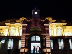 新竹駅の夜の顔