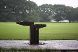 雨降り散歩道 水飲み場