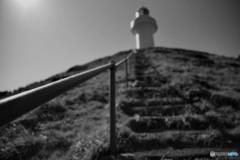 海辺の階段