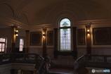 ステンドグラスのある旧裁判所