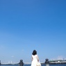 横浜の青空*