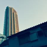 夕陽のタワー