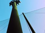 碧空と照明塔