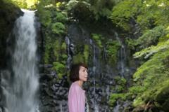 滝ポートレートSS1/20