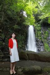 滝ポートレート