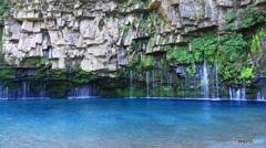 Blue@雄川の滝