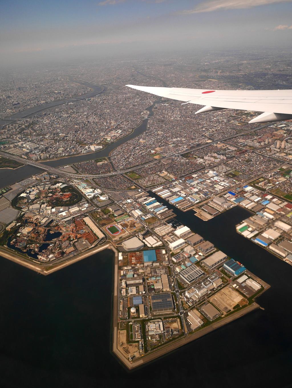 世界の翼窓から-1.東京