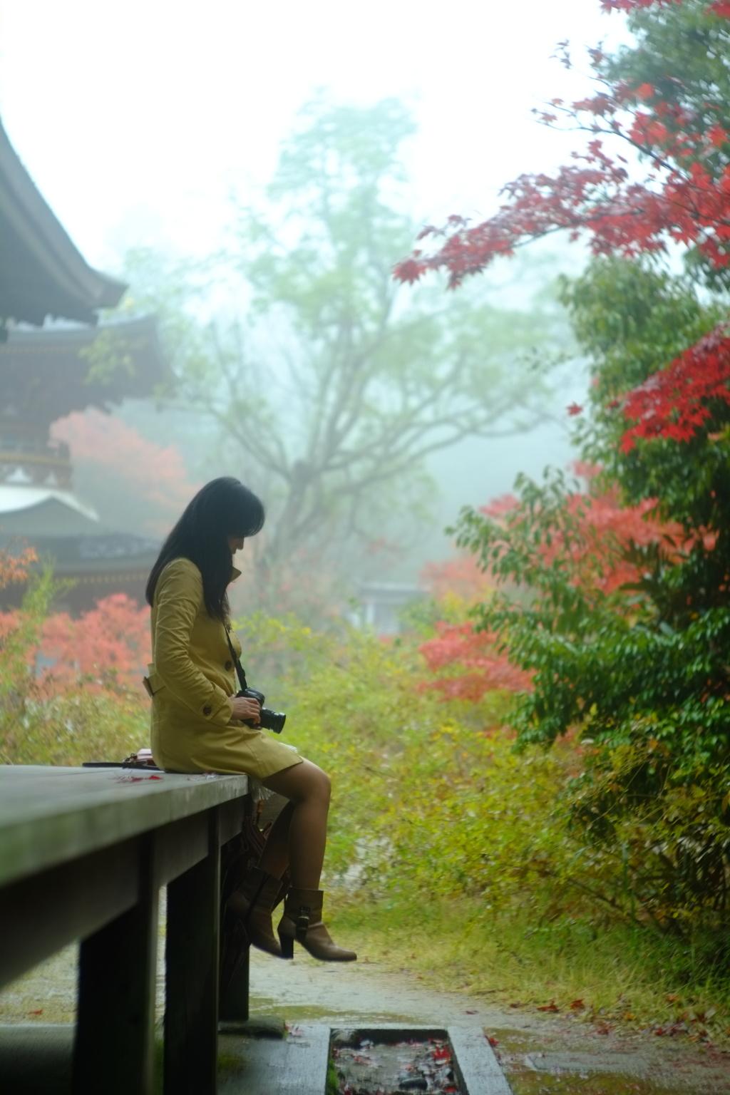 雨・霧・紅