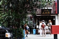 琵琶の木の下の吞兵衛