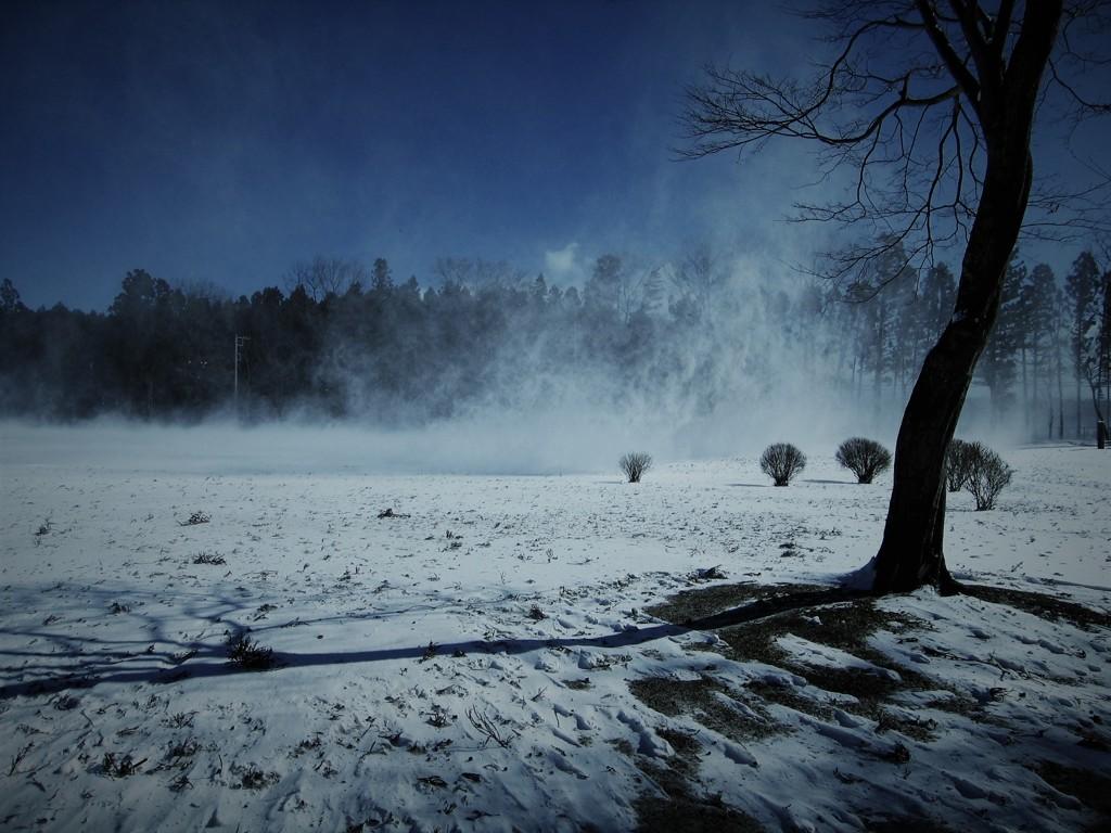 氷点下の風