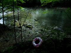 晩夏の河  ~猛暑の記憶~