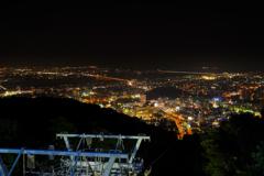 徳島の街を見下ろして