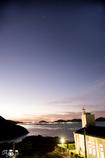 上五島の夕日。