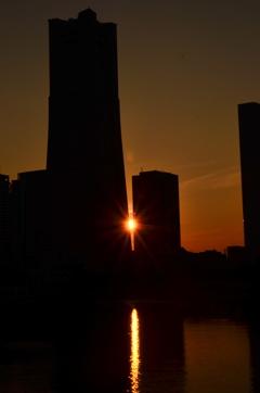 あの日の夕日