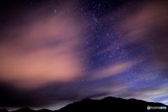 朝霧高原からの夜空