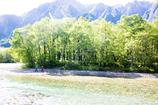 高原の河原