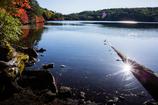 水清む高原の湖