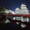松本城(春夜景)4