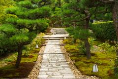 庭園への道