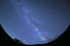 八千穂高原の星景