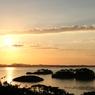 松島のシルエット