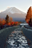秋深まる富士