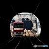 トンネルの先の駅