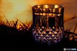 夕焼けグラス