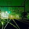 夜の操車場