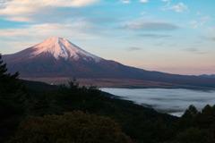 紅富士・雲海付き