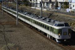 2016/12/30/ あずさ81号(送り込み) 戸倉橋にて