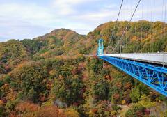 竜神峡 吊橋