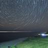 白米千枚田星軌跡