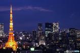 東京風景⑭ #東京タワー #世界貿易センタービル