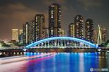 東京風景⑱ #永代橋 #隅田川 #大川端リバーシティ21