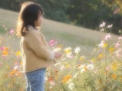 花と語らう