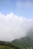 空 雲 稜線