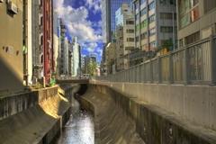 今、旬な 渋谷川を訪ねて 2018/10/20 …06 (hdrバージョン)