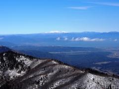 白山を望む