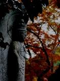 古寺にて2