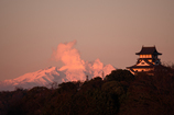 犬山の夕暮れ