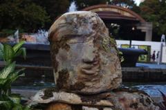 ガーデニング 4 石像