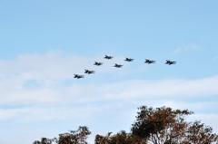 2014築城基地航空祭 第8航空団混合編隊F-2A F-15J