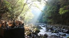 朝日の天安河原