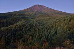 平日の富士山380